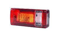 Задний правый комбинированный фонарь, с оранжевым указателем поворота и фонарём заднего хода, на винтах