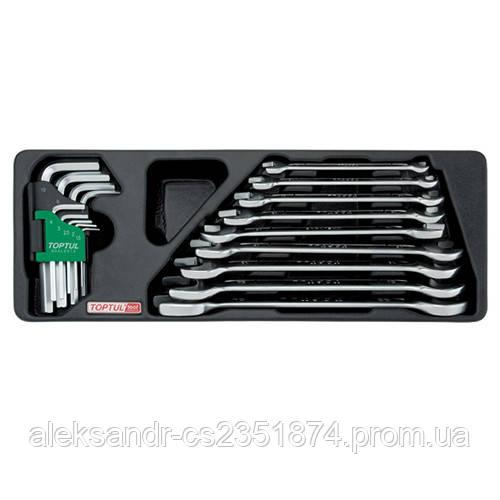 Набор инструмента комбинированный GAAT1802 TOPTUL