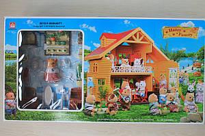 Sylvanian Families домик под дерево мебель аксессуары в коробке 17*34*6,5 см