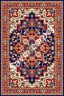Иранский ковер (Персидский),  коллекция Pazirik, Heriss, Dark Blue