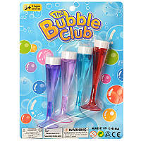 Мыльные пузыри A0027226 4шт 9.5см, на листе, 14,5-20-2см