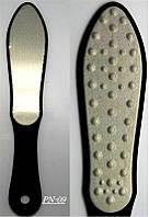 Терка для ног лазерная с ручкой, щетки YRE PN-09, терка для педикюра