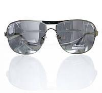 Классические солнцезащитные очки-авиаторы для мужчин с зеркальными линзами