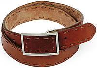 Винтажный мужской ремень с закрытой пряжкой, Tom Tailor, Германия, 100187 коричневый, 3,5х111 см
