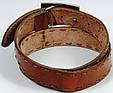Винтажный мужской ремень с закрытой пряжкой Tom Tailor, фото 5