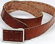 Винтажный мужской ремень с закрытой пряжкой Tom Tailor, фото 6