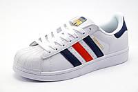 Кроссовки Adidas Superstar унисекс, белые, р. 36 39 40
