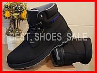 Кроссовки зимние мужские restime black boots waterproof 41-45
