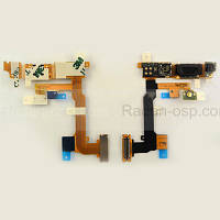 Sony U1i Satio Шлейф в сборе с динамиком и гнездом камеры, 1215-2815 оригинал