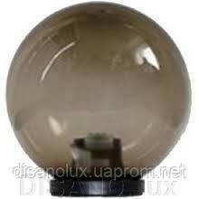 Світильник Садово-Парковий Куля NF1801 φ150 димчастий і адаптер Е27 IP44