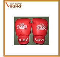 Боксерские перчатки LEV винил 8 oz
