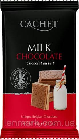 Молочный Шоколад Екстра чистый CACHET MILK CHOCOLATE EXTRA PURE 300Г