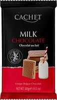 Молочный Шоколад Екстра чистый CACHET MILK CHOCOLATE EXTRA PURE 300Г, фото 1