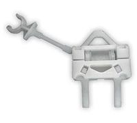 Скрепка стеклоподъемника передняя правая дверь, Fiat Doblo