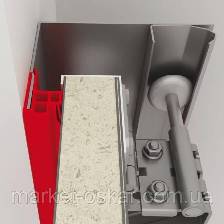 боковой уплотнитель для промышленных секционных ворот