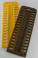 Органайзер для нити мулине, 30 мест на палитре. Размер общий 160 х 55 мм , фото 1
