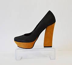 Женские нубуковые туфли Bravo Moda 982, фото 2