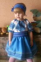 Сукня вишиванка для дівчинки.(1-5років), фото 1