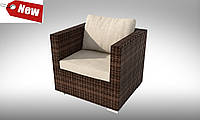 Кресло  плетеное из ротанга APERTO  NEW 82х72х71см