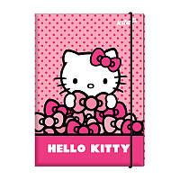 HK17-213 Папка для трудового обучения Hello Kitty, A4