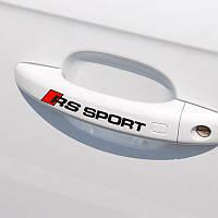 Наклейки RS Sport: набор 4 шт. - черные, фото 1