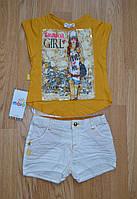 Летний комплект (футболка+шорты), р. 92-98, Maia (Турция)