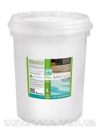 PG-20 рН минус 25 кг, гранулы (концентрат)