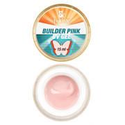 Строительный розовый гель Builder Pink gel UV,15 мл