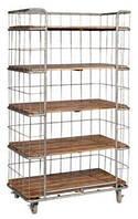 Полки книжные Irn Wdn Bookshelf 15010. Цвет натуральный. Полки в стиле Лофт. Ручная работа. Сделано в Индии.