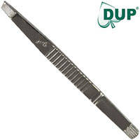 DUP Пинцет 02-0032 для бровей косметический скошенный 3мм