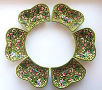 Набор салатниц из керамики. Узбекистан