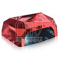 УФ лампа Quick CCFL LED на 36 Вт с сенсором и таймером 10,30,60 сек. и магнитным дном (red mirror)