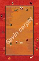 Иранский ковер (Персидский),  коллекция  Gabbeh, Delvar, Dark red