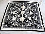 Платок шовковий Valentino, фото 2