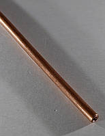 Медная трубочка для рукоделия. Диаметр - 4 мм, толщина стенки - 1 мм, длина - 30 см, фото 1