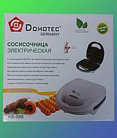 Сосисочница вафельница (аппарат для корн-догов) на 6 сосисок DOMOTEC KB-888