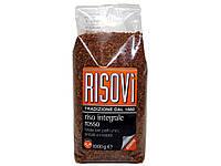 """Нешлифованный красный рис Riso integrale rosso """"Risovi"""" 1000 г"""