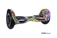 """Гироскутер Внедорожник Allroad 10"""" гироплатформа Smart Way (смартвей, мини сигвей, фиолетовый хип-хоп)"""