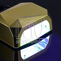 УФ лампа CCFL+LED DIMOND на 36 Вт (gold mirror)