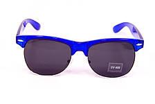 Очки Clubmaster синие 034-1, фото 3