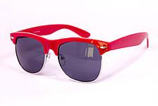 Очки Clubmaster красные 034-2, фото 2