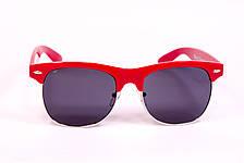 Очки Clubmaster красные 034-2, фото 3
