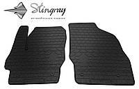 Stingray Модельные автоковрики в салон Mazda 3 2009- Комплект из 2-х ковриков (Черный)
