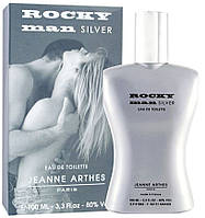 Туалетна вода Jeanne Arthes Rocky Man Silver EDT 100 ml