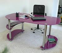Офисный стеклянный стол  С1
