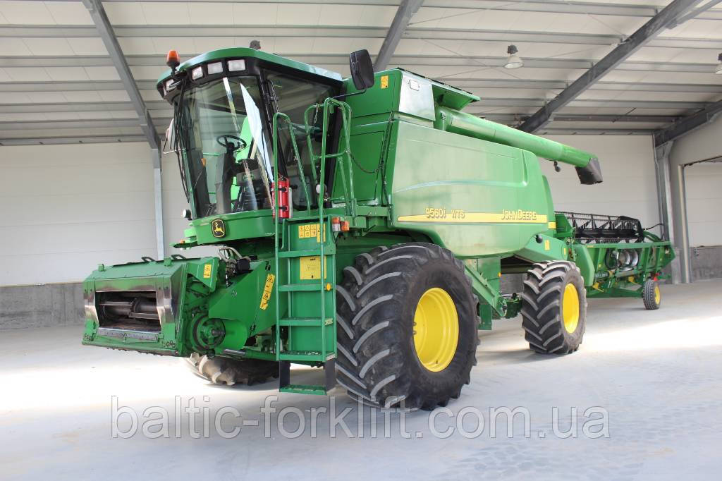 Продам зерноуборочный комбайн JOHN DEERE 9560I WTS (№555)