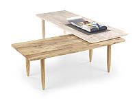 Деревянный раздвижной  журнальный столик Bora-Bora (Halvar)