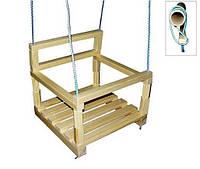 Качели К005 деревянные 30х30см
