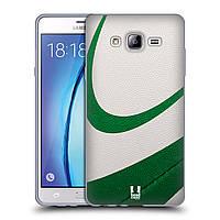 Силиконовый чехол для Samsung Galaxy On7 узор Мяч для пляжного волейбола