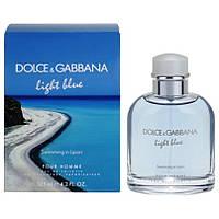 Туалетна вода Dolce & Gabbana Light Blue Swimming in Lipari EDT 125 ml